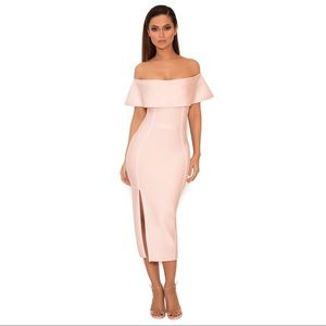 House of CB Danae Off the Shoulder Dress